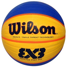 Wilson FIBA 3x3 Replica Ball Yellow/Blue