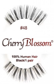 Cherry Blossom 100% Human Hair Eyelashes 48