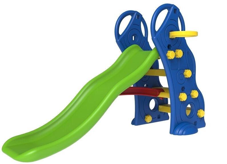 Liumägi Kids Slide LN5511, sinine/roheline, 140 cm