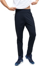 Audimas Functional Tapered Fit Sweatpants Black/Blue 184/S