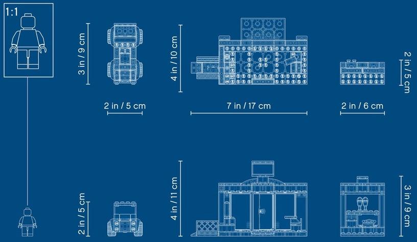 Конструктор LEGO® Friends 41362 Супермаркет Хартлейк Сити