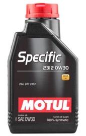 Motoreļļa Motul Specific 2312 0W - 30, sintētiskais, vieglajam auto, 1 l