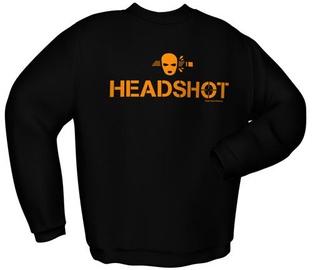 Svīteris GamersWear Headshot Sweater Black S