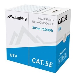 Lanberg Patch Cable UTP CAT 5e 305m Grey