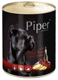 Влажный корм для собак (консервы) Dolina Noteci Piper Animals Wet Dog Food Beef Liver And Potatoes 800g