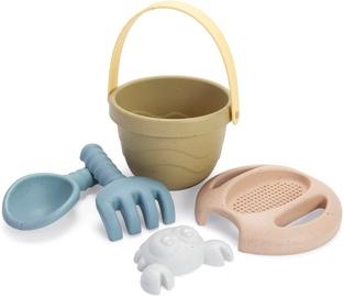 Набор игрушек для песочницы Dantoy BIOplastic Tiny Bucket Set, многоцветный, 5 шт.