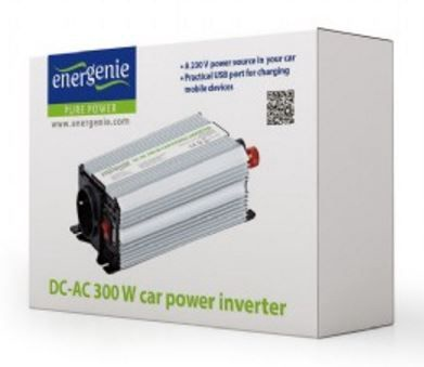 EnerGenie by Gembird Car Power Inverter 300W