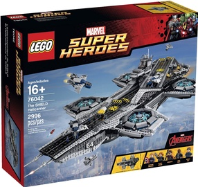 Konstruktorius LEGO Super Heroes The SHIELD Helicarrier 76042
