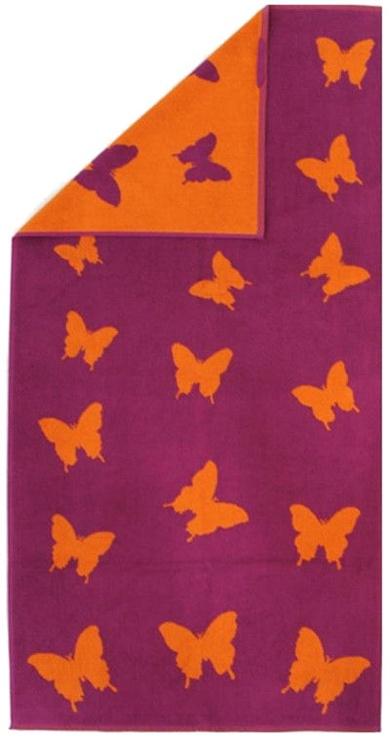 Bradley Towel 70x140cm Purple/Orange