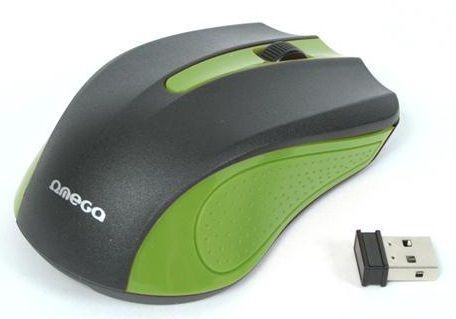 Omega OM-419 Wireless Mouse Green