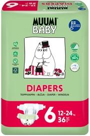 Muumi Baby Diapers No. 6 36pcs