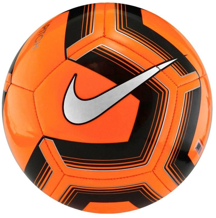 Nike Pitch Training Ball Orange Size 4