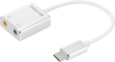 Sandberg 2 x 3.5mm to USB-C Adapter 136-26