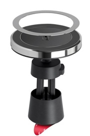 Goobay Wireless Fast Charging Magnetic Car Mount 10W Black 66310