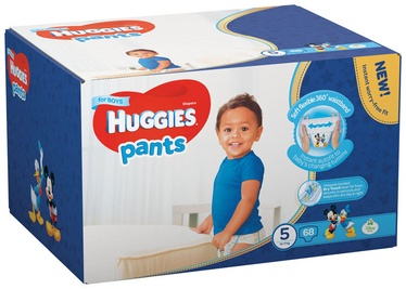 Sauskelnės Huggies Pants Boy, 5 dydis, 68 vnt.