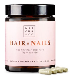 Matcha & Co Hair & Nails 60 Caps