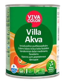 Krāsa kokam Pentacolor Villa Akva, 0.9 l, A-balta