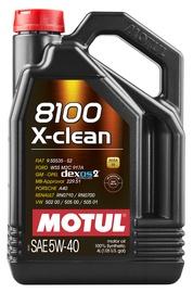 Mootoriõli Motul X-Clean 5W - 40, sünteetiline, sõiduautole, 4 l