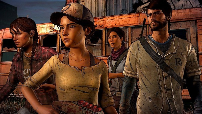 Игра Xbox One Walking Dead Collection: The Telltale Series Xbox One