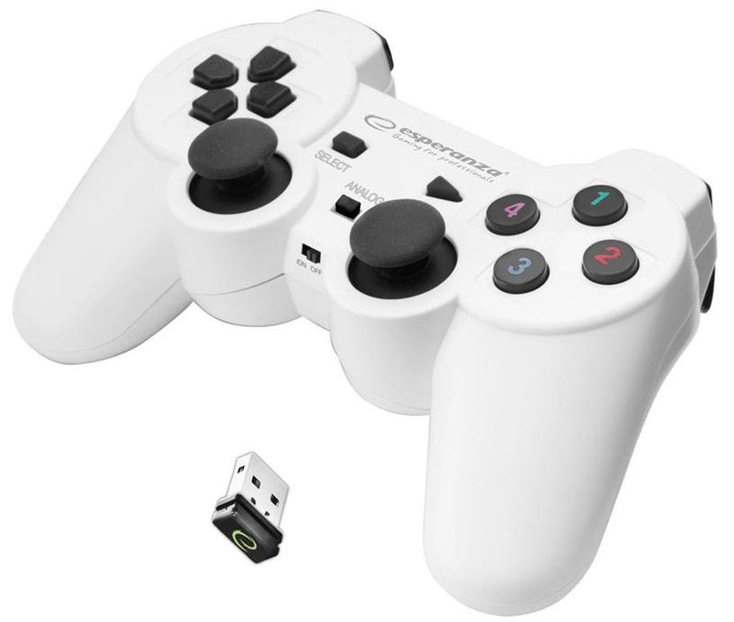 Esperanza Gladiator Wireless Gamepad White/Black