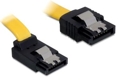 Delock Cable SATA / SATA Yellow 0.20m