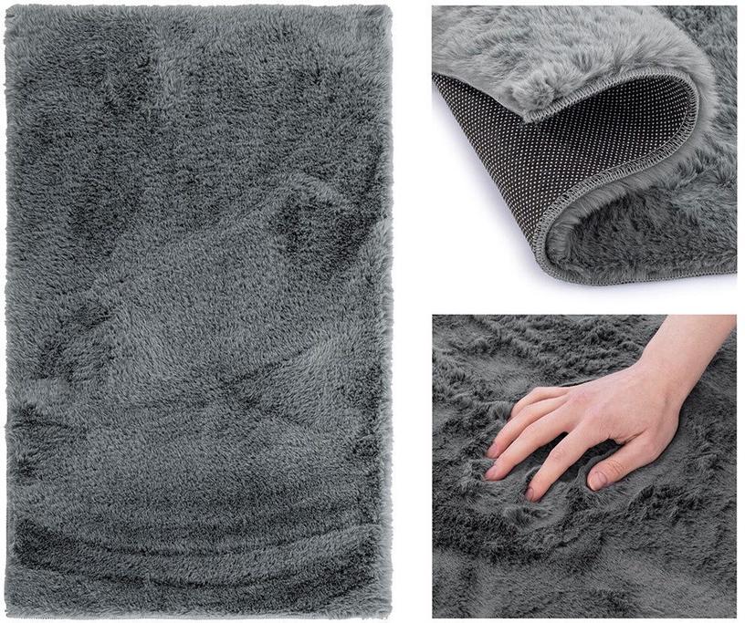 Kilimas AmeliaHome Lovika, pilkas, 170x120 cm