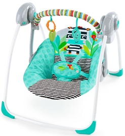 Bright Starts Portable Swing Zig Zag Zebra