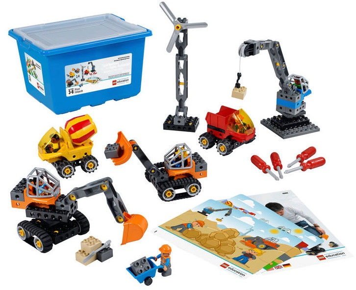 LEGO Education Tech Machines Set with Storage 45002