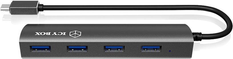 USB-разветвитель (USB-hub) RaidSonic IB-AC6405-C USB 3.0 4-Port