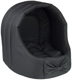 Amiplay Basic Oval Dog House S 36x36x35cm Black