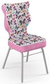 Детский стул Entelo Solo Size 4 ST31, розовый/многоцветный, 340 мм x 775 мм