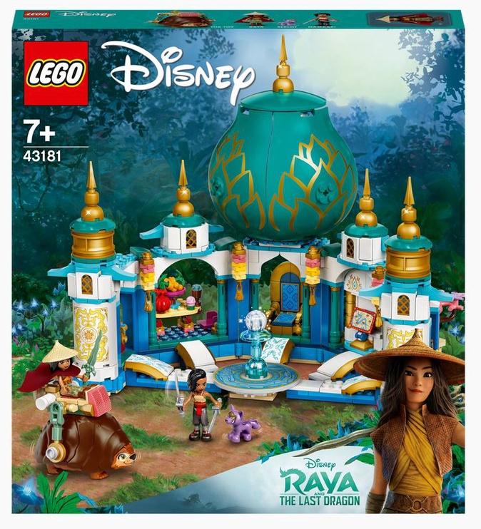Конструктор LEGO I Disney Princess™ Райя и Дворец сердца 43181, 610 шт.