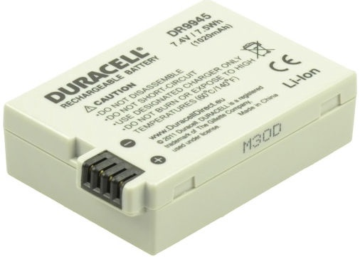 Duracell Premium Battery For Canon EOS/550D/600D/700D 1020mAh