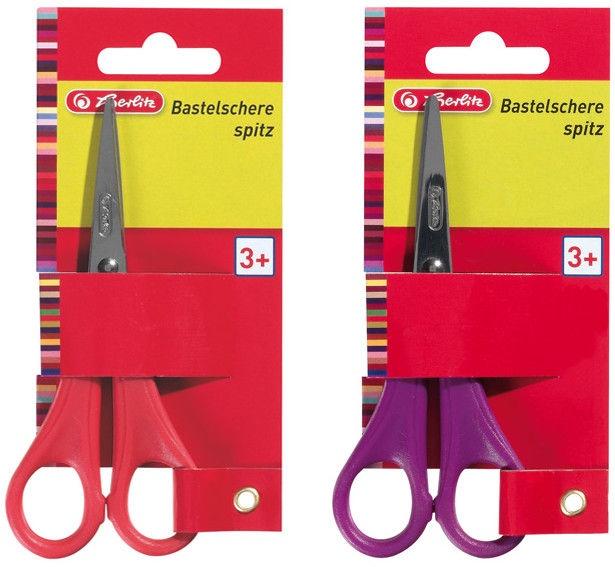 Herlitz Craft Scissors Pointed Assortment 08740060