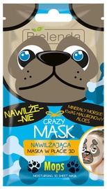 Bielenda Crazy Mask Moisturizing Sheet Mask Pug 1pcs