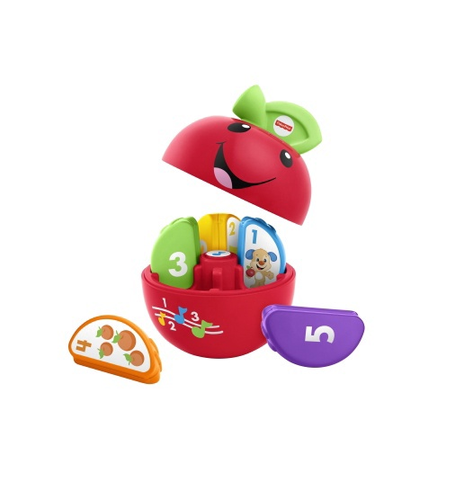 Interaktyvus žaislas Laugh & Learn learning Happy Apple LT