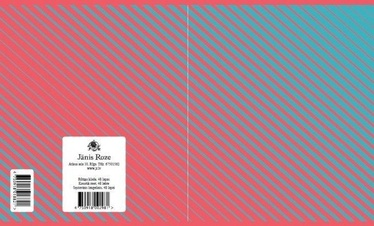 Jānis Roze Notebook JR9 48 Pages Lines