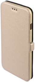 Telone Super Slim Shine Book Case For LG K10 2018 Gold