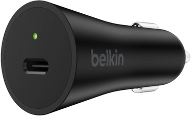 Belkin Boost USB Type-C Car Charger Black
