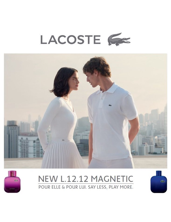 Lacoste Eau de Lacoste L.12.12 Magnetic 100ml EDT + 150ml Shower Gel