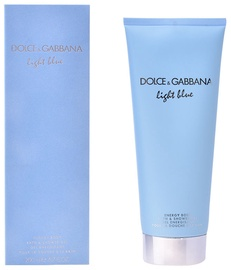 Dušas želeja Dolce & Gabbana Light Blue Pour Femme Energy Body, 200 ml