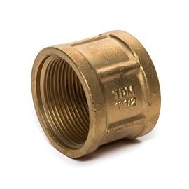 """TDM Brass 600.60/220 Connector V/V 1 1/2"""""""