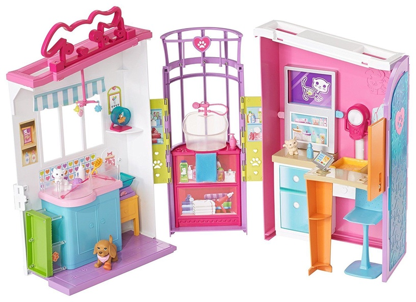 Mattel Barbie Pet Care Center Playset FBR36