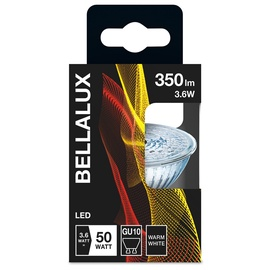 Led lamp Bellalux PAR16, 3.6W, GU10, 2700K, 350lm