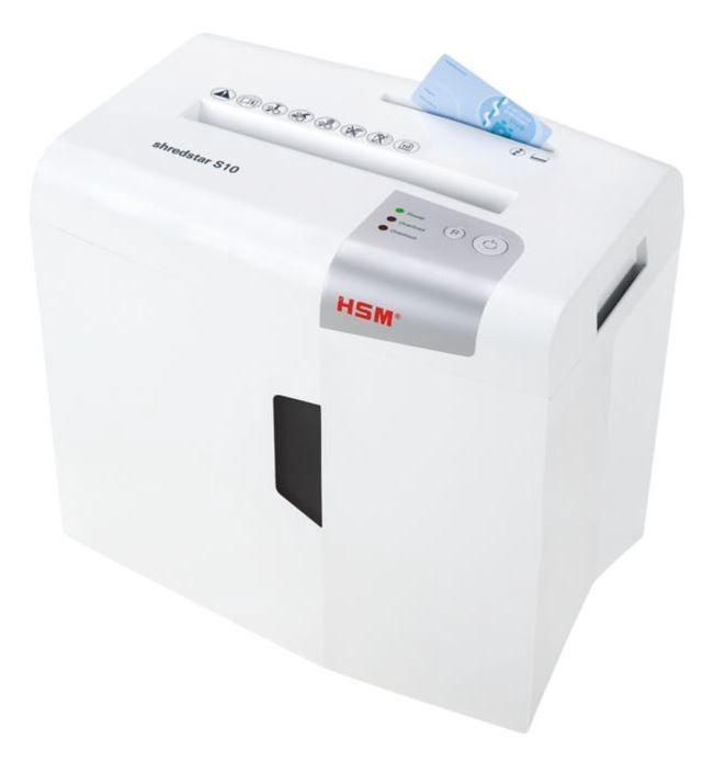 Уничтожитель бумаг HSM Shredstar S10, 6 mm