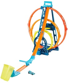 Mattel Hot Wheels Track Builder Unlimited Triple Loop Kit