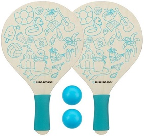 Schreuders Sport Beach Tennis Set Waimea Paradise