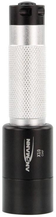 Ansmann LED Metal Torch X10 Black/Silver
