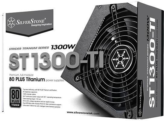Silverstone Strider 1300W SST-ST1300-TI