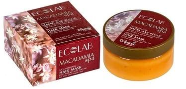 Kaukė plaukams ECO Labarotorie Macadamia SPA Nourishing, 200 ml